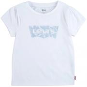 T-Shirt Infantil Menina Levi's Manga Curta Bufante