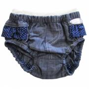 Tapa Fralda Infantil Feminino Jeans Pink Kidin?s KD3110