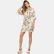 Vestido Chemise Amarração Tulum Feminino Lez a Lez