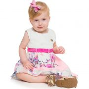 Vestido Infantil Feminino Bebê Fada BG/G 20081*