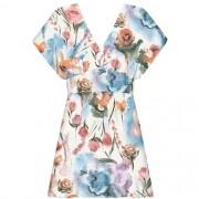 Vestido Tecido Crepe Siena Jardim Lez a Lez 2395L
