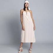 Vestido Tecido Rayon Bali Midi Solar Lez a Lez 2557L