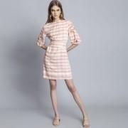 Vestido Tecido Rayon Bali Vichy Lez  a Lez 2340L
