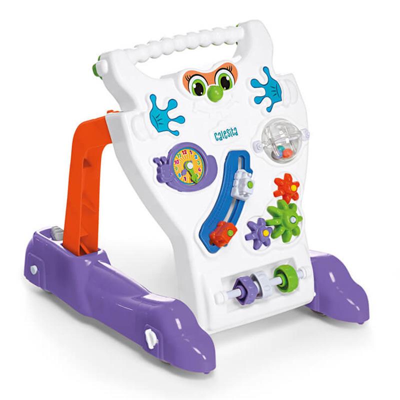 Andador Infantil Feliz Branco Calesita C902
