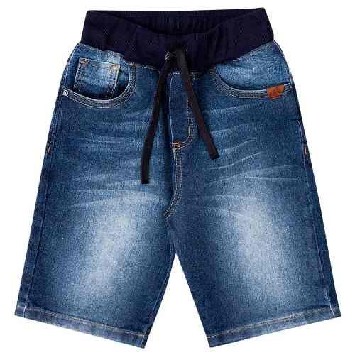 Bermuda Jeans Infantil Masculino Boca Grande Bg/g 32046*
