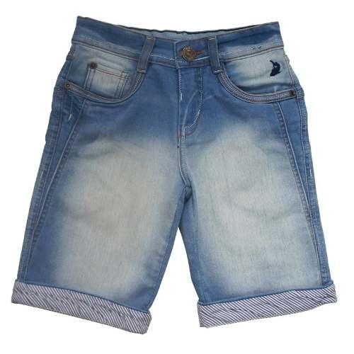 Bermuda Jeans Infantil Masculino Rio Squalo S03050059