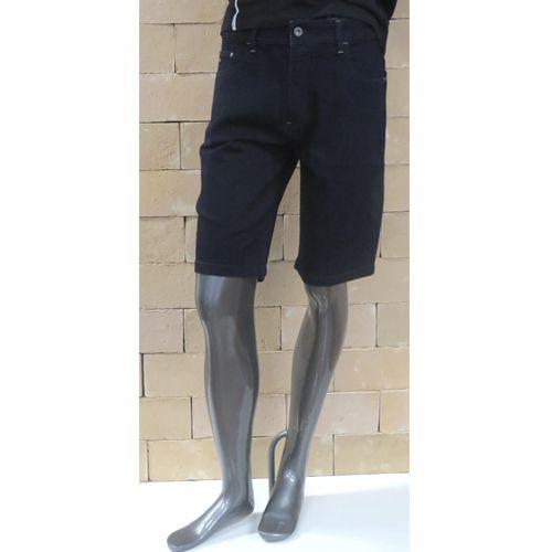 Bermuda Jeans Masculina Acostamento