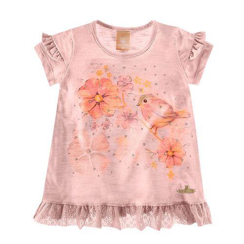 Blusa Infantil Feminina Verão C17604*