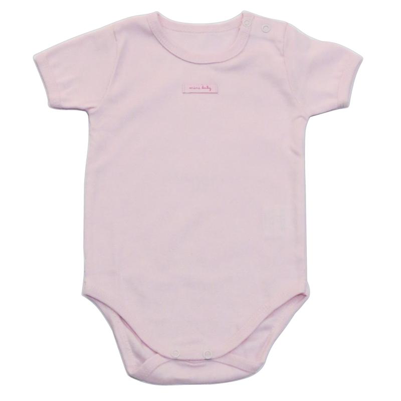 Body Bebê Manga Curta Infantil Menina Mini Baby