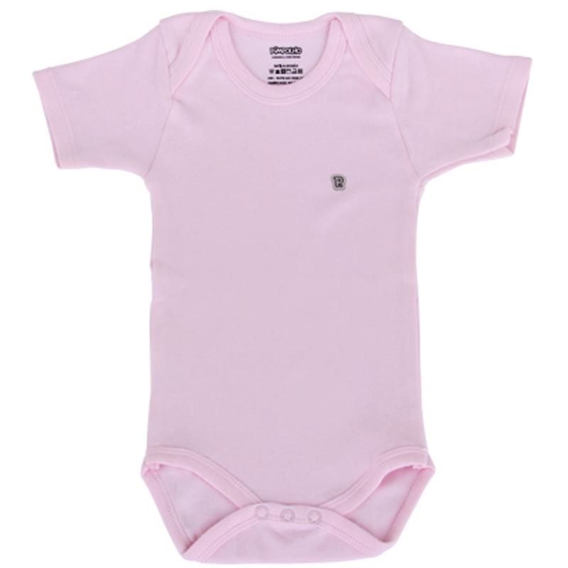 Body Bebê Menina Liso Pimpolho