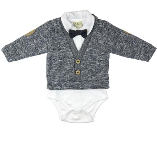 Body com Casaquinho Infantil Masculino Kidin´s KD9236