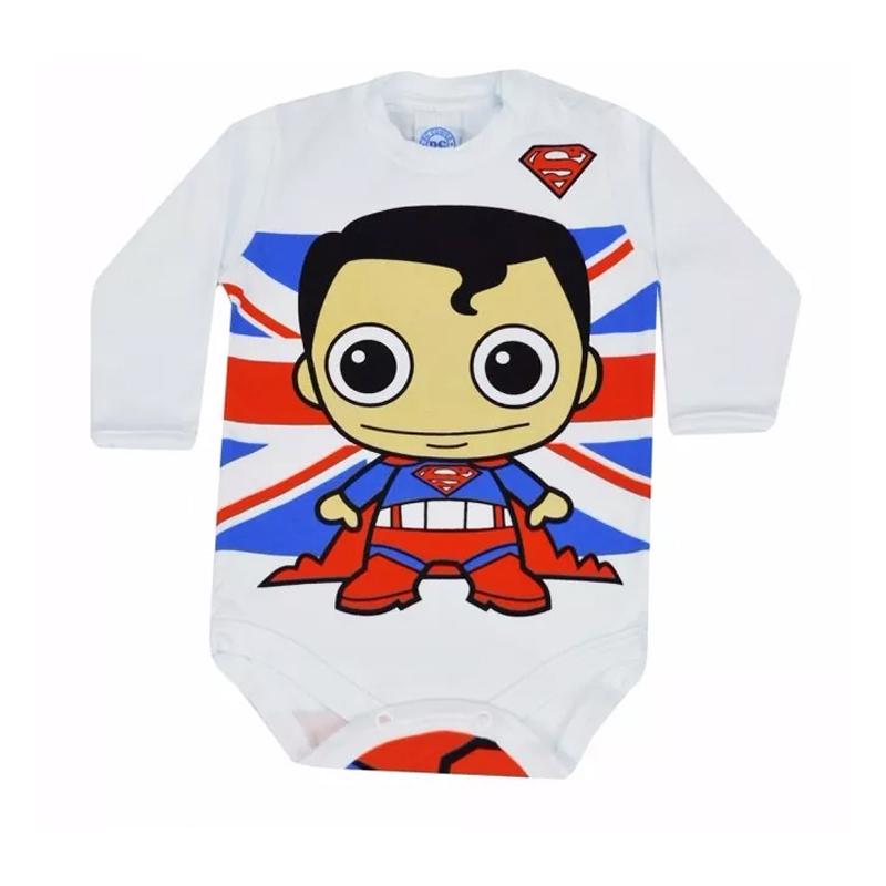 Body Infantil Menino Superman Get Baby