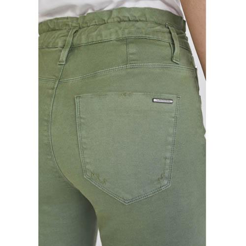 Calça Jeans Cintura Alta Lado Avesso Jegging L116017W