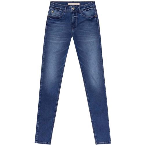 Calça Jeans Feminina Com Elastano Bali Jeans Lez a Lez 2224