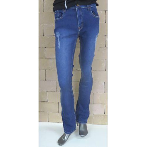 Calça Jeans Masculina Acostamento