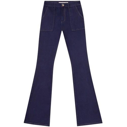Calça Super Flare Malibu Elastic Jeans Feminina Lez a Lez 1641L