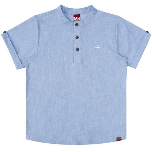 Camisa Infantil Masculina Bata Jeans Boca Grande BG/G32047*