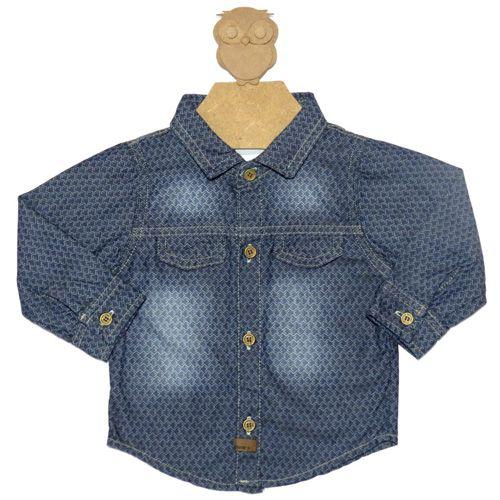 Camisa Jeans Infantil Masculina Kidin´s KD8101*