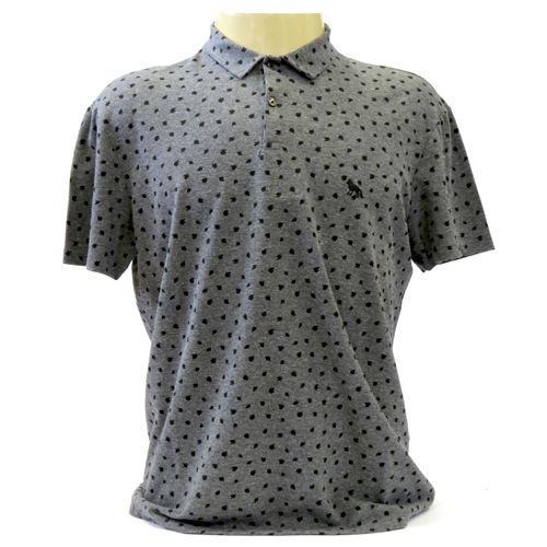 Camisa Polo Masculina Manga Curta Acostamento