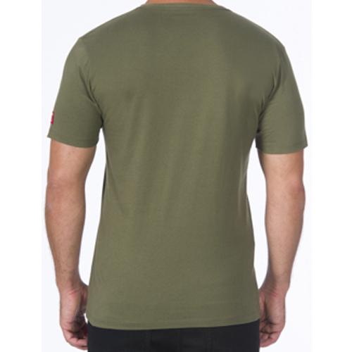Camiseta Acostamento Casual Masculina Estampada 2025