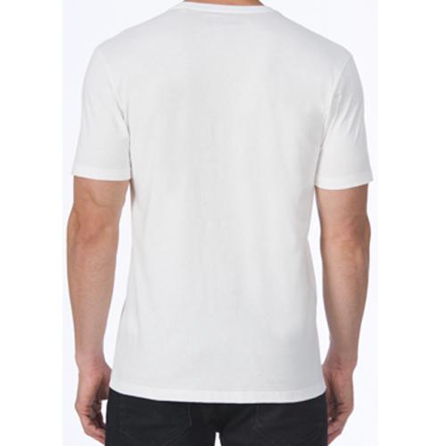 Camiseta Acostamento Casual Masculina Estampada 2052