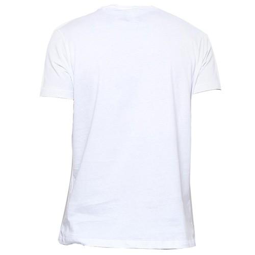 Camiseta Acostamento Estampada Masculina