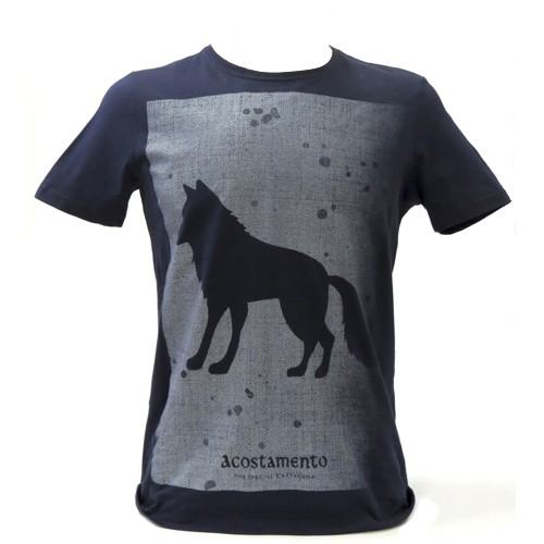 Camiseta Acostamento Masculina Manga Curta Estampada
