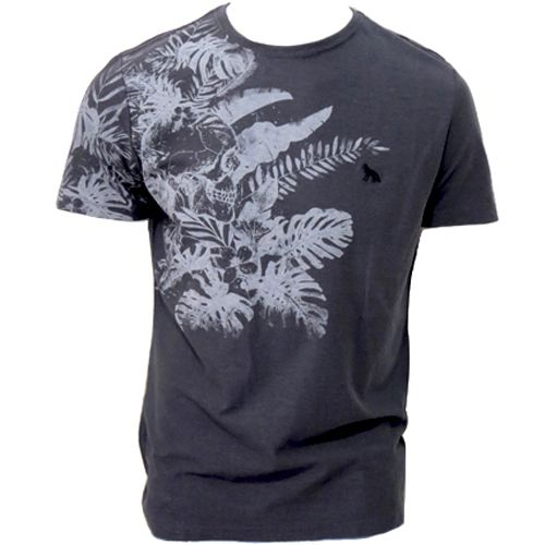 Camiseta Acostamento Masculino Manga Curta Estampada