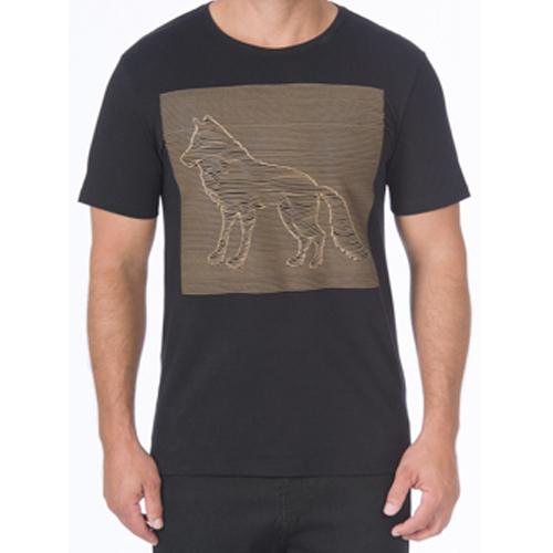 Camiseta Casual Masculina Estampada Acostamento 90102013