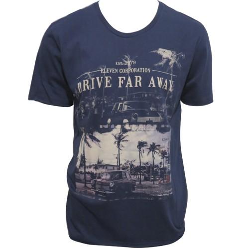 Camiseta Eleven Estampada Masculina Manga Curta -