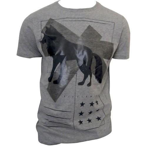 Camiseta Estampada Acostamento Masculina Manga Curta 80102031