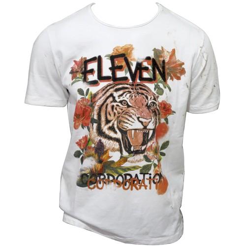 Camiseta Estampada Eleven Masculina Branca