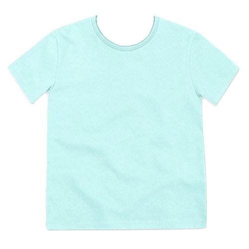 Camiseta Infantil Lisa Manga Curta Menino Boca Grande 7606