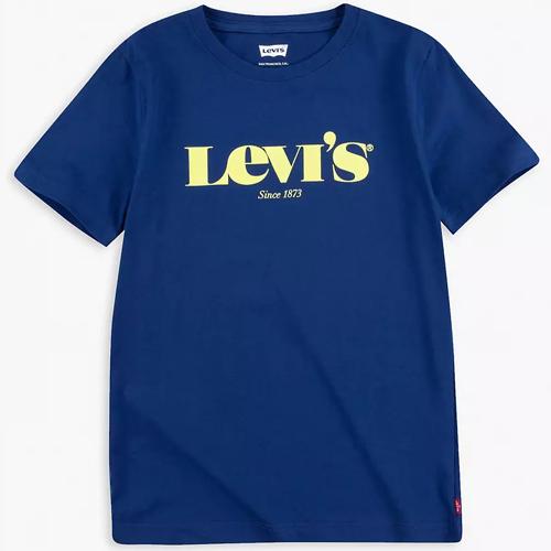 Camiseta Infantil Masculina Logo Serifa Levi's