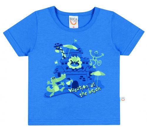 Camiseta Infantil Masculina Verão BG17764