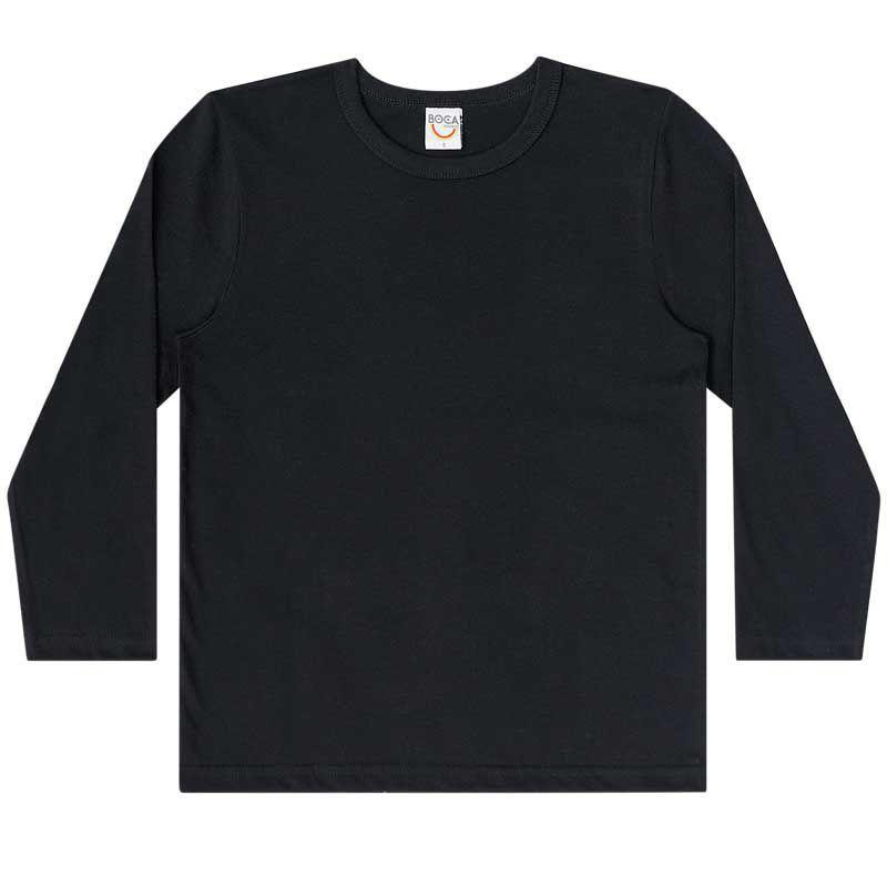Camiseta Infantil Masculino Básica Manga Longa BG7622*