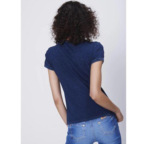 Camiseta Jeans Feminina Damyller