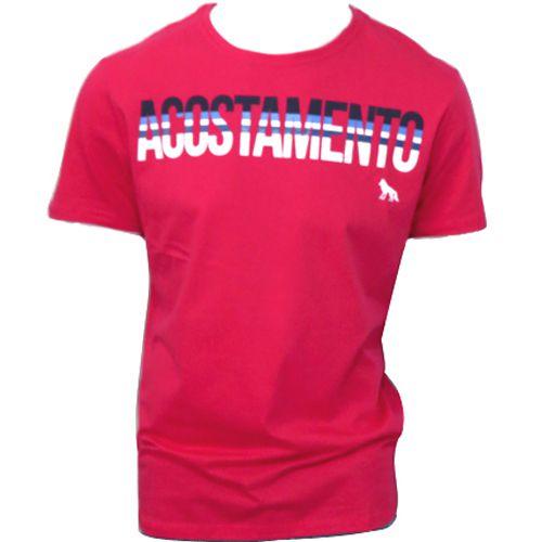 Camiseta Masculina Acostamento Logo Frontal 80102016