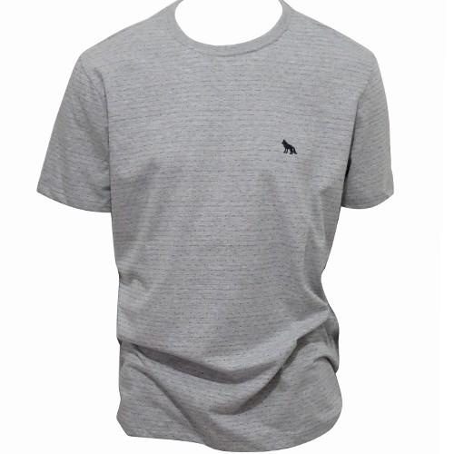Camiseta Masculina Acostamento Manga Curta Básica