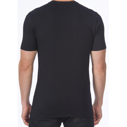 Camiseta Masculina Casual com Detalhe Aplicação Acostamento 90102065