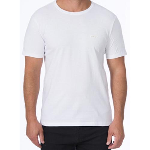 Camiseta Masculina Casual com Detalhe Aplicação Acostamento 90102164