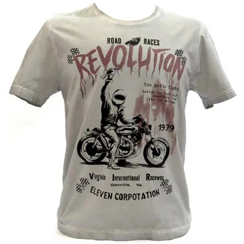 Camiseta Masculina Eleven Estampada Manga Curta