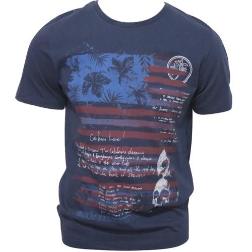Camiseta Masculina Eleven Flag Marinho