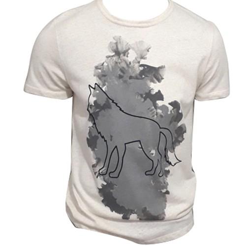 Camiseta Masculina Estampada Acostamento