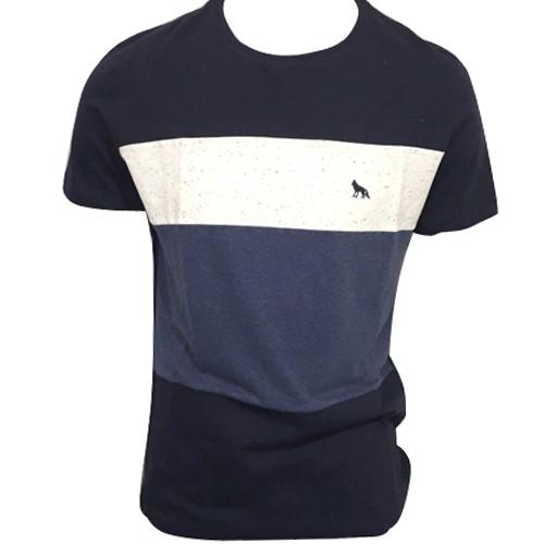 Camiseta Masculina Listrada Acostamento