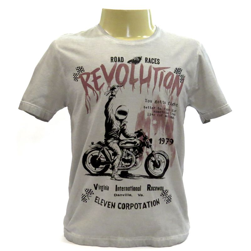Camiseta Masculina Manga Curta Eleven