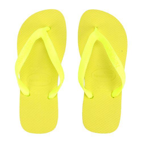Chinelo Infantil Feminino Top Havaianas Amarelo H4000029A*