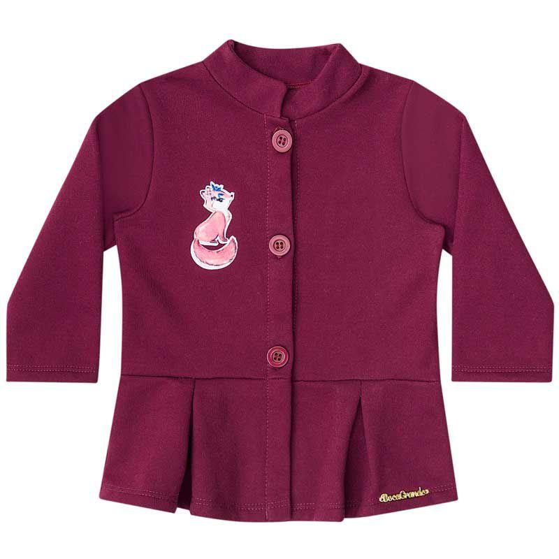 Conjunto Infantil Feminino Bebê Casaco e Legging BG12536