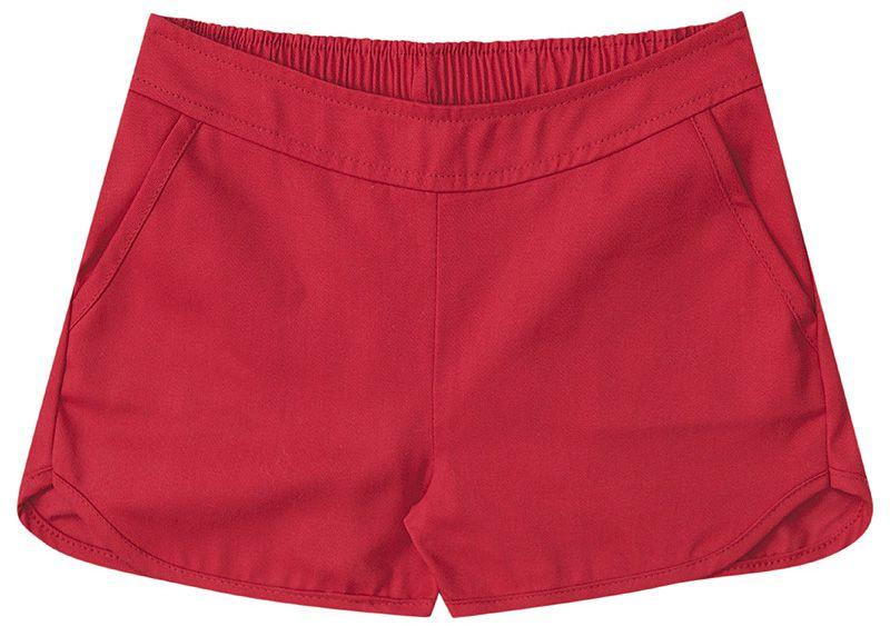 Conjunto Infantil Feminino Blusa e Shorts Boca Grande BG42086