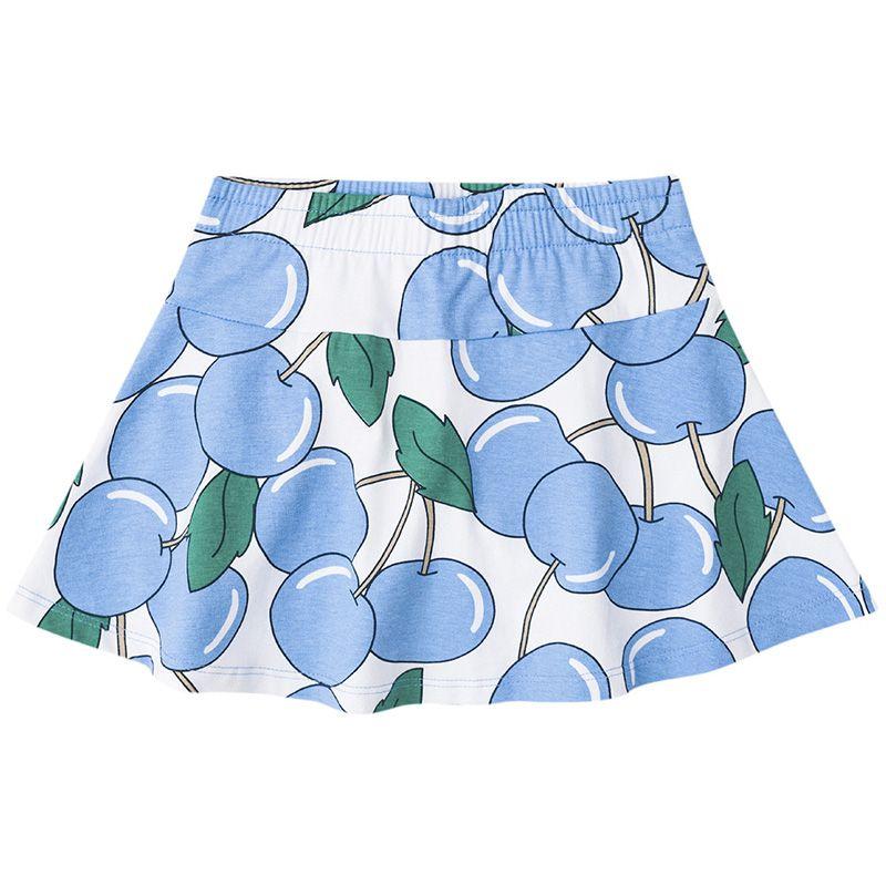 Conjunto Infantil Feminino Regata e Saia Shorts Boca Grande BG42089